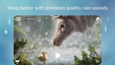 Rainy Sleep Rain Sounds HQ 3Dのおすすめ画像1