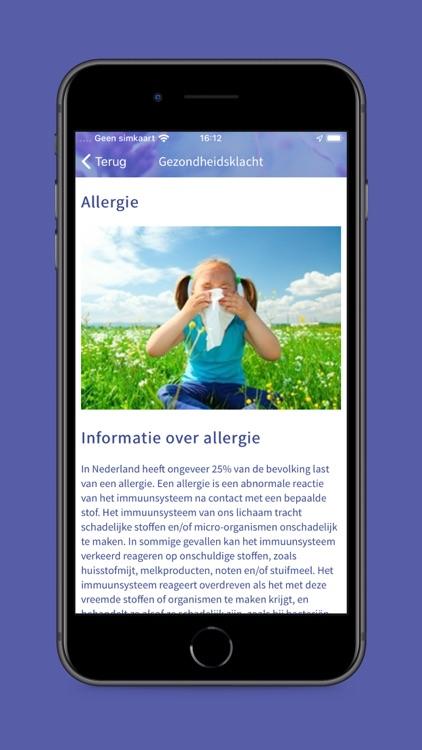 Homeopathiewijzer app screenshot-3