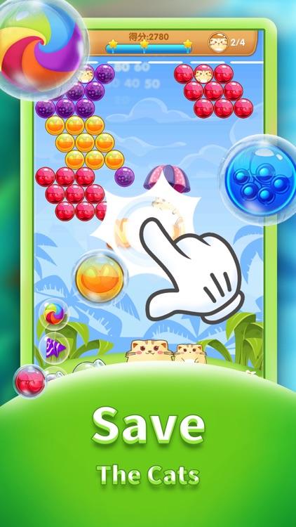Cat Pop - Bubble Shooter Game