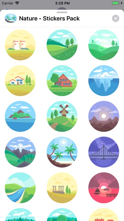 Nature - Stickers Pack