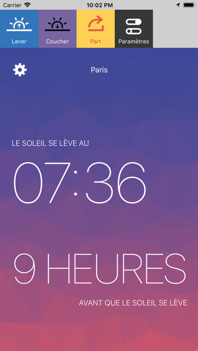 Screenshot #2 pour Lux - Sunrise and Sunset