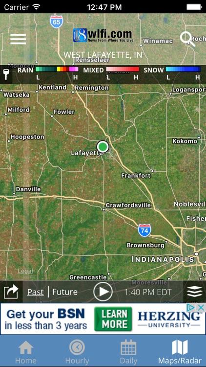WLFI 18 Weather - Radar