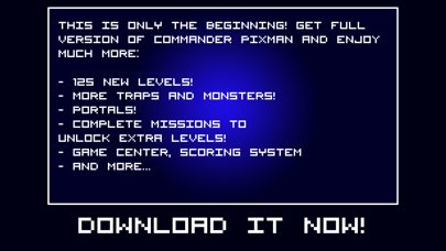 Screenshot from Commander Pixman - First Blood