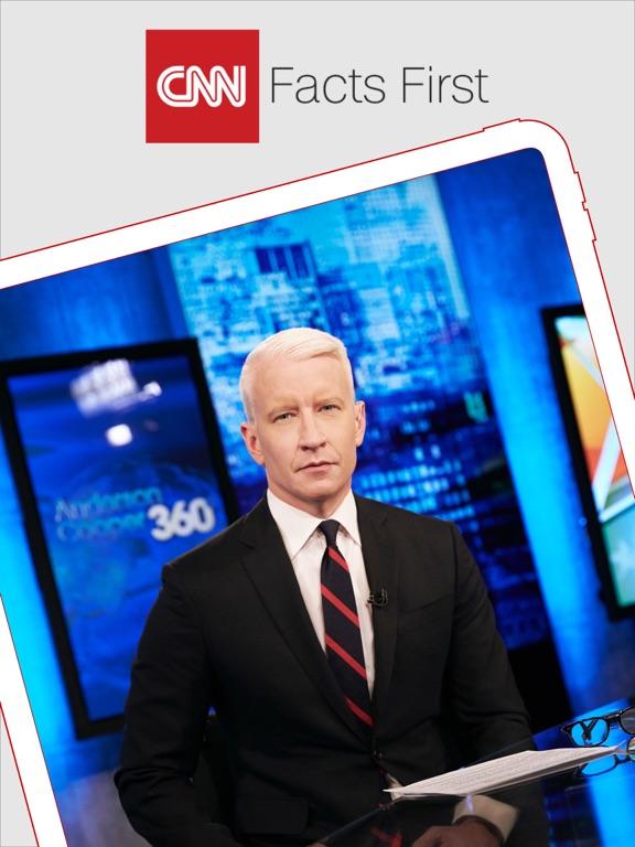 CNN App for iPhone screenshot