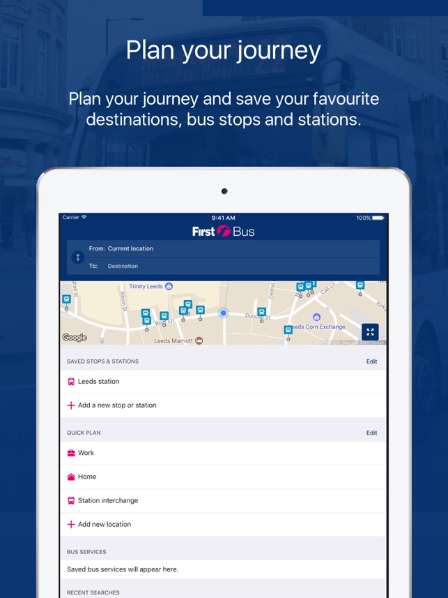 First Bus – Travel Made Easy on the App Store