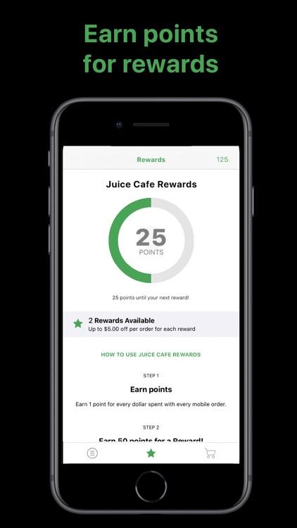 Juice Cafe screenshot-3