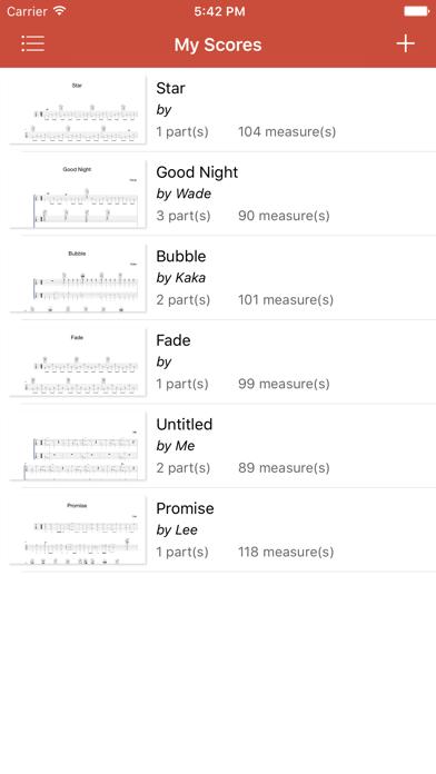 Guitar Notation Pro screenshot one