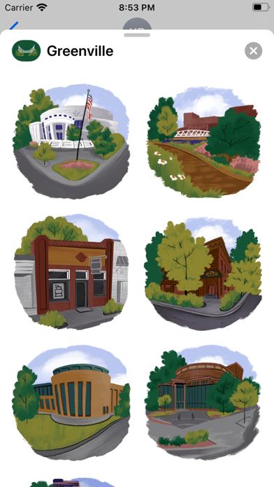 Greenville Stickers