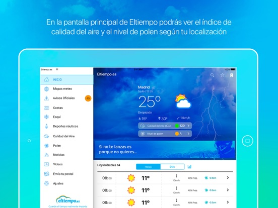 Screenshot #4 pour Eltiempo.es+
