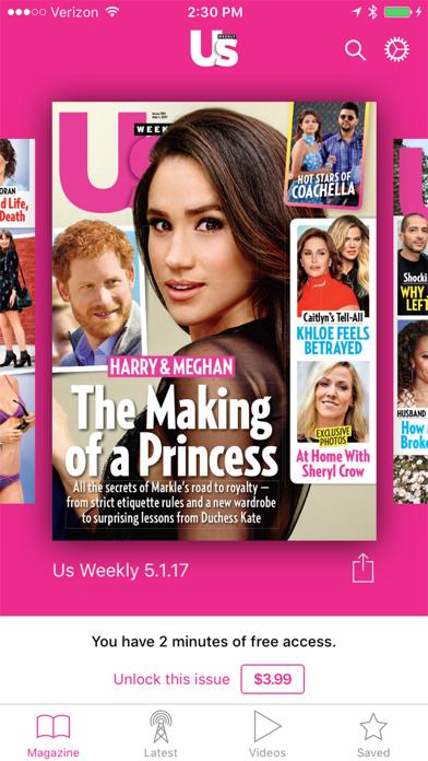 Us Weekly Mag Screenshot
