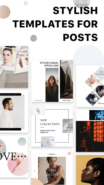 STORIO - collage for instagram