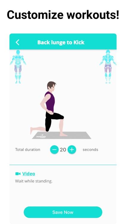 Leg Workouts Lower Body men screenshot-5