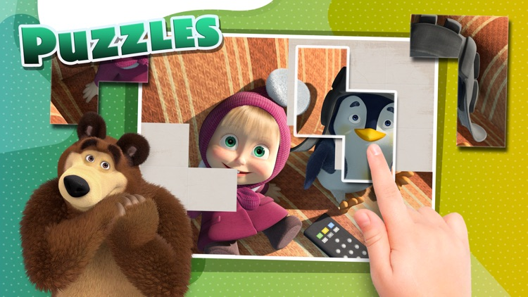 Masha and the Bear - Game Zone