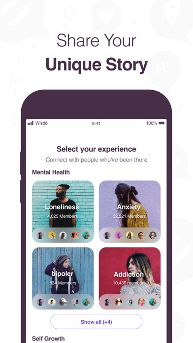 Wisdo by Wisdo (iOS, United States) - SearchMan App Data & Information