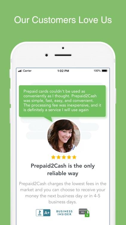 Prepaid2Cash screenshot-5