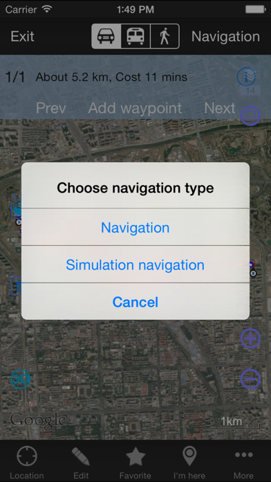 Screenshot for OvitalMap in Turkey App Store