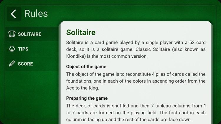 Solitaire (Klondike) screenshot-3