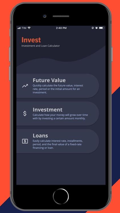 Financial Calculator Invest screenshot-0