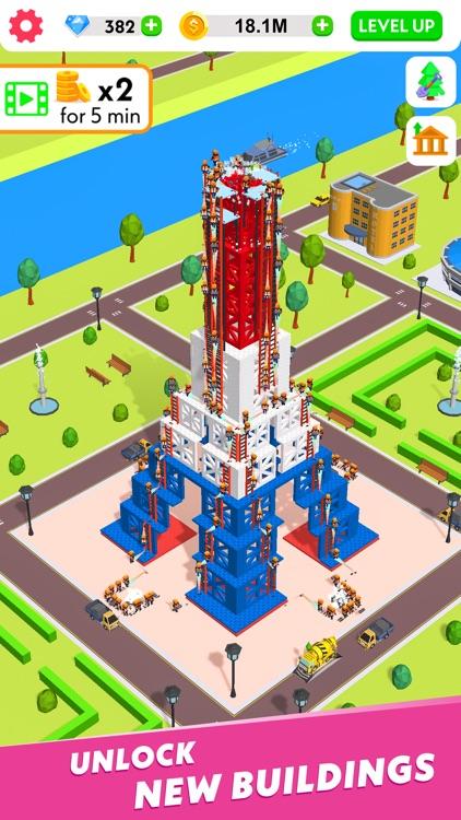Idle Construction 3D screenshot-6