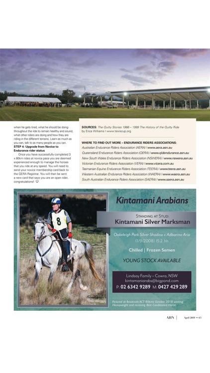 Australian Arabian Horse News screenshot-4