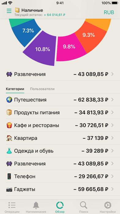 CashSync: Учет расходовСкриншоты 2