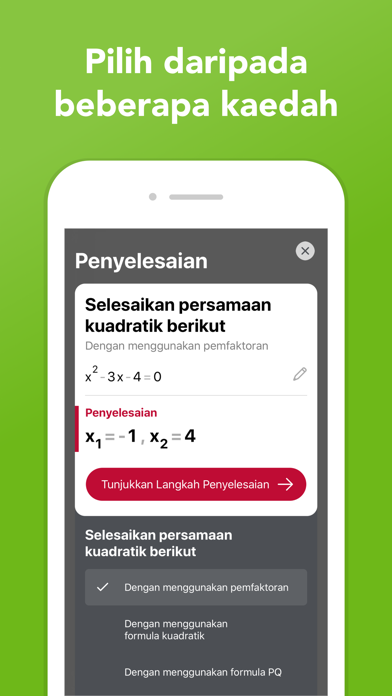 Screenshot for Photomath in Malaysia App Store