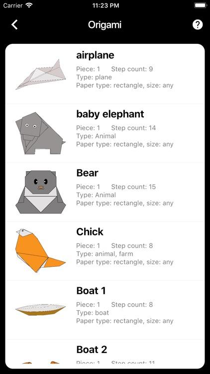 Funny Origami