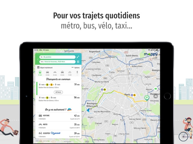 Verwonderend Mappy pour iPad in de App Store CJ-42