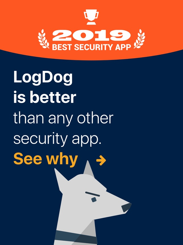 LogDog - Mobile Security 2019 on the App Store