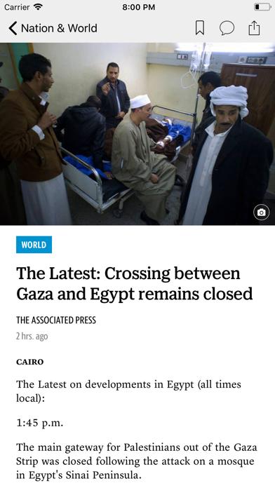 The Bellingham Herald News screenshot two