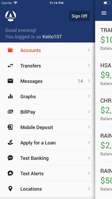Atlantic Mobile BankingScreenshot of 2