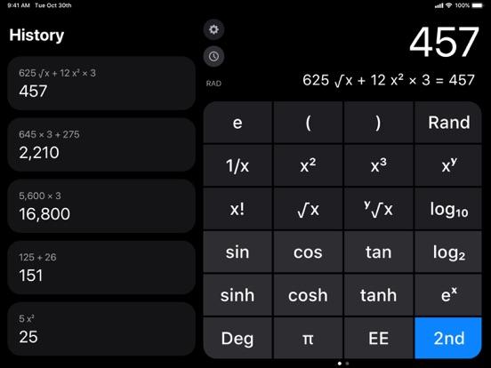 Calculator ۬ screenshot 3