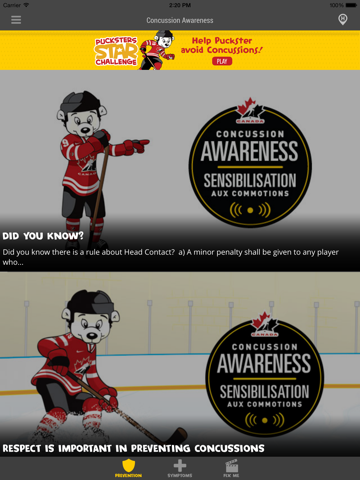 Concussion Awareness - náhled