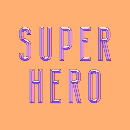 Super Hero - Sticker