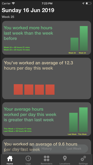 Workadia - Auto-Hours-Tracker screenshot one