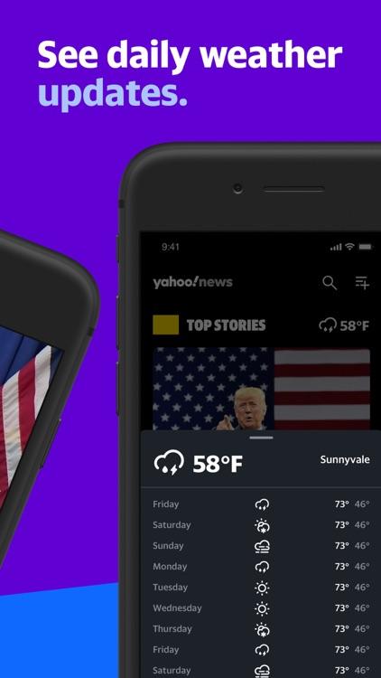 Yahoo News: Live, Breaking, US screenshot-5
