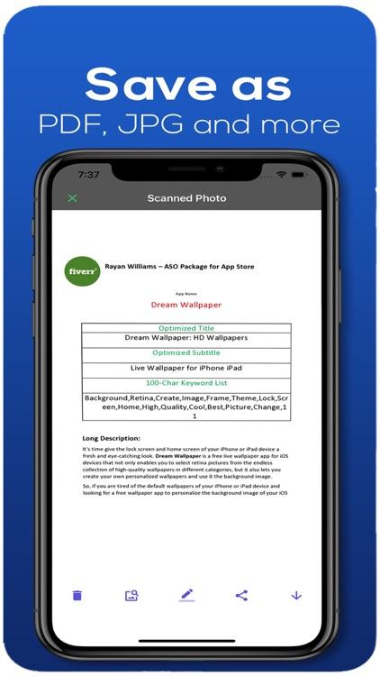 Dream iScanner for Documents screenshot-6