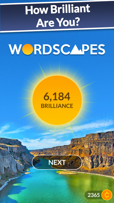 Screenshot for Wordscapes in Norway App Store