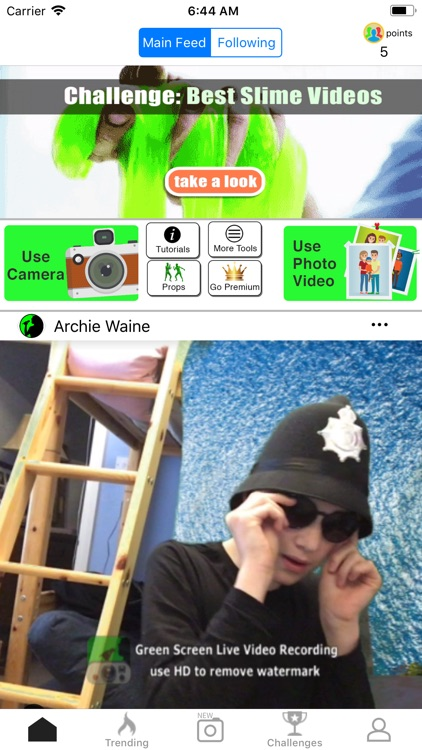 Green Screen Live Video Record screenshot-9