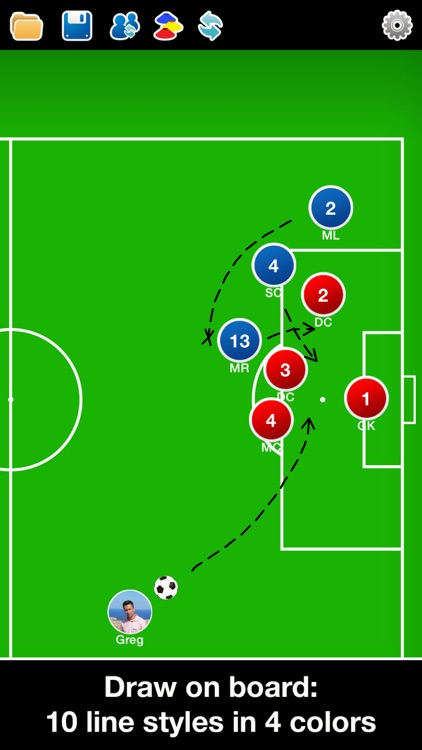 Coach Tactic Board: Soccer++ screenshot-2
