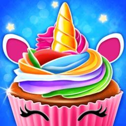 Unicorn Cupcake Baking Kitchen