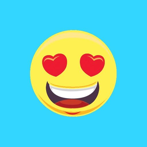 Emoji stickers for iMessage HD