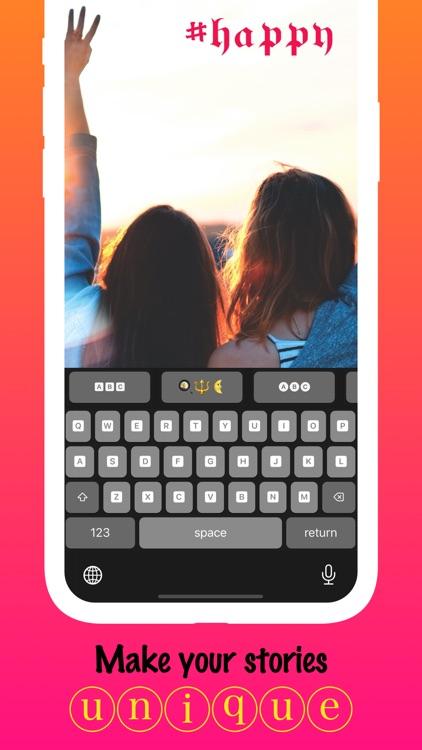 Font ∞ - Social Media Keyboard