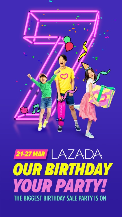 Lazada - Birthday Party 27 Mar screenshot-0
