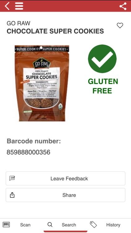The Gluten Free Scanner