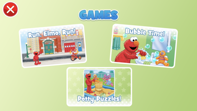 Potty Time With Elmo review screenshots