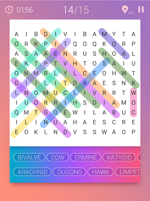iPad Image of Word Search Pro‧