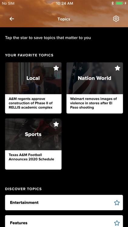 Brazos Valley News from KAGS screenshot-3