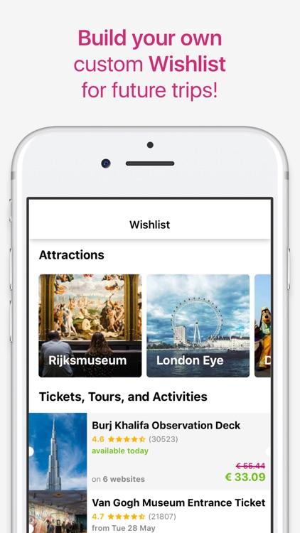 TicketLens: Tours & Activities screenshot-7