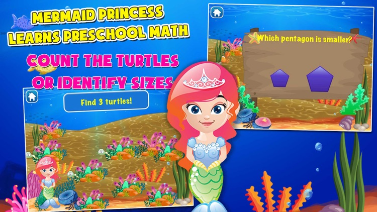 Mermaid Princess Math for Kids screenshot-4